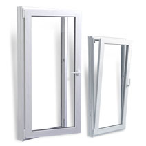 Upvc windows dual-mode