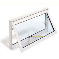 Upvc window canopy