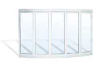 Upvc window Arcuate