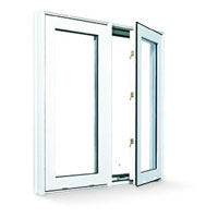French windows upvc