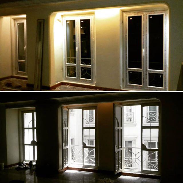 تعویض پنجره دو جداره