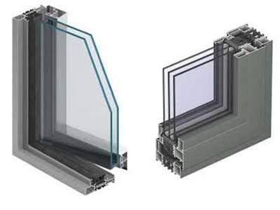 مقایسه پنجره آلومینیوم ترمال بریک با آلومینیوم معمولی