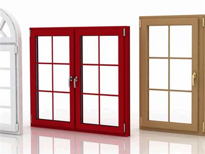 مقایسه انواع رنگ پنجره آلومینیومی