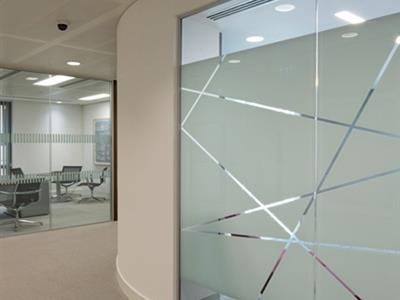 شیشه دوجداره دکوراتیو سند بلاست